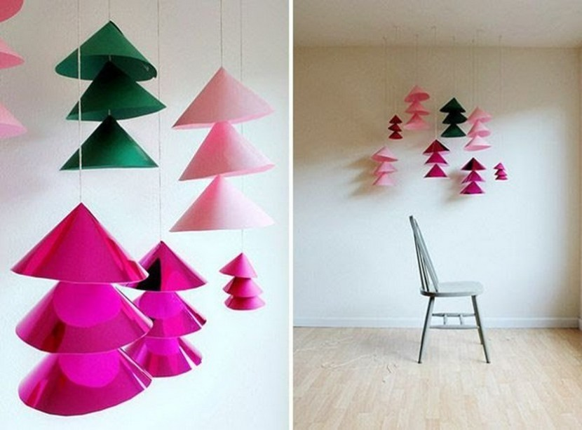 DIY giant Christmas bells