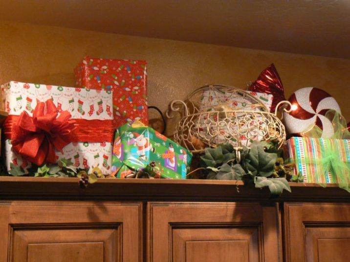 Christmas Decorating Above Kitchen Cabinets Christmas Photos