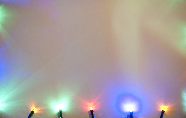 Photo Of Christmas Illumination Background Free
