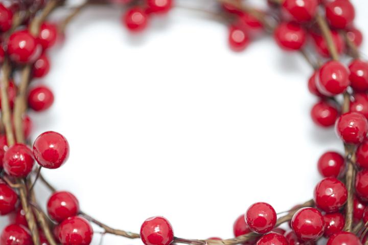 Photo Of Red Berry Christmas Border Free Christmas Images