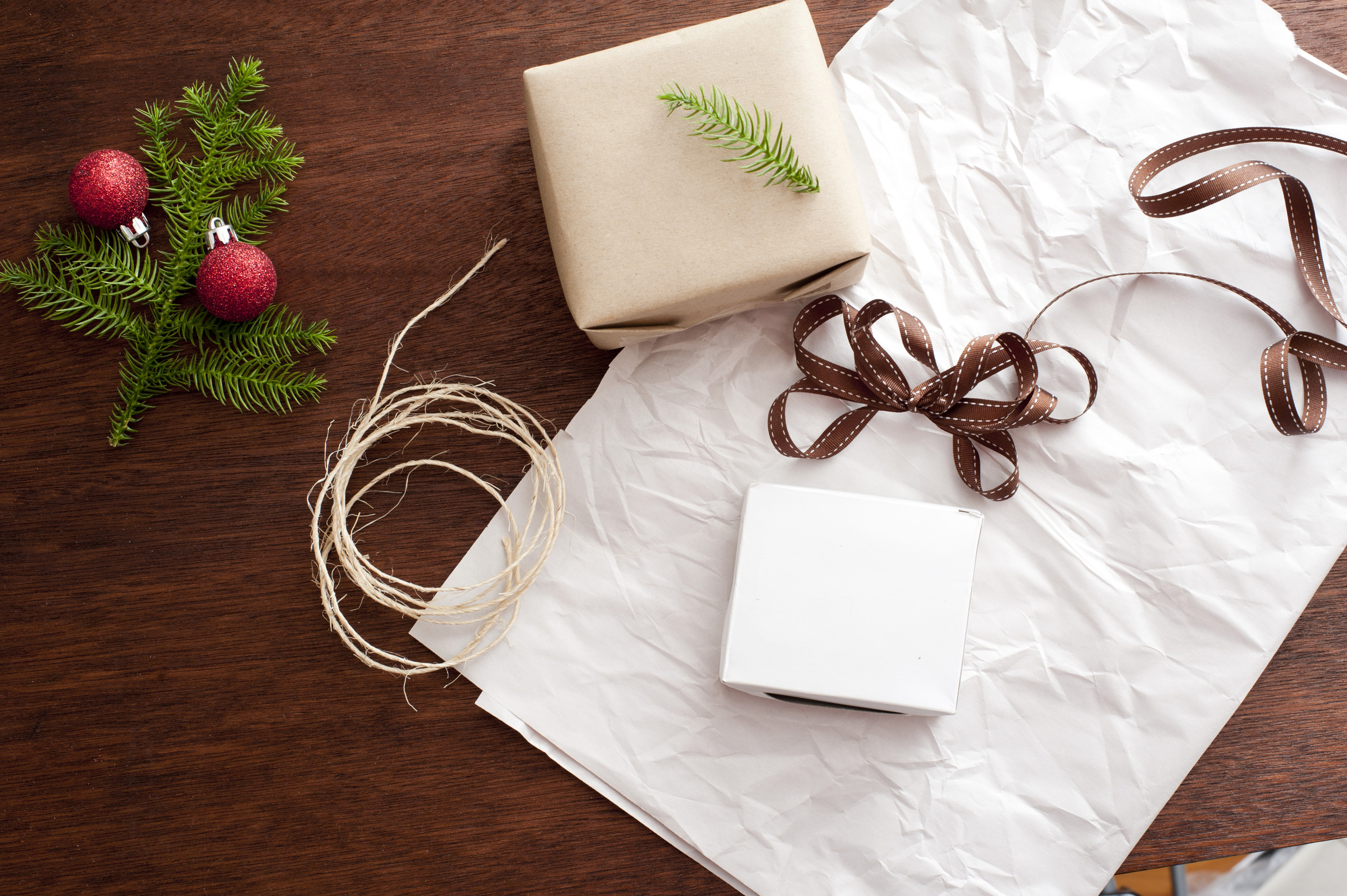 Photo Of Christmas Gift Wrapping Free Christmas Images