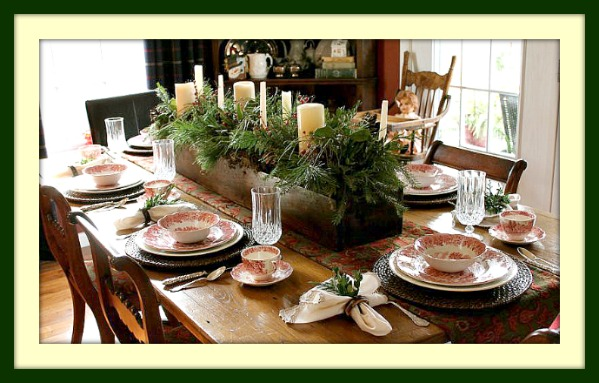 New England Tablescape