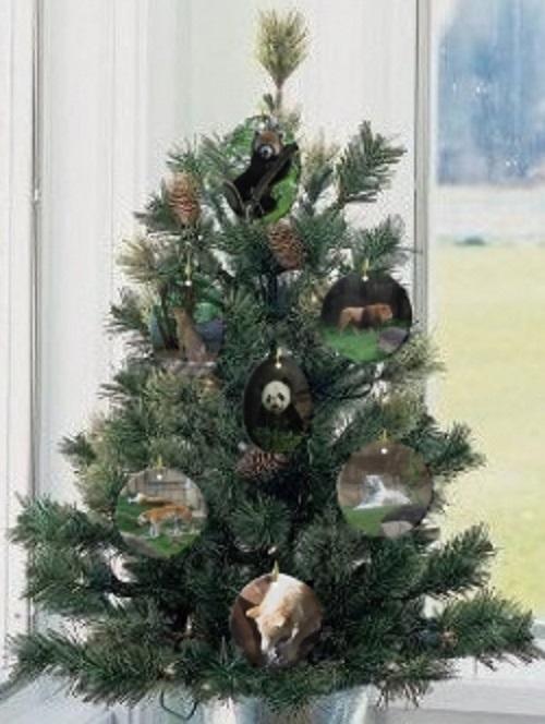 Endangered Species Animal Ornament Christmas tree