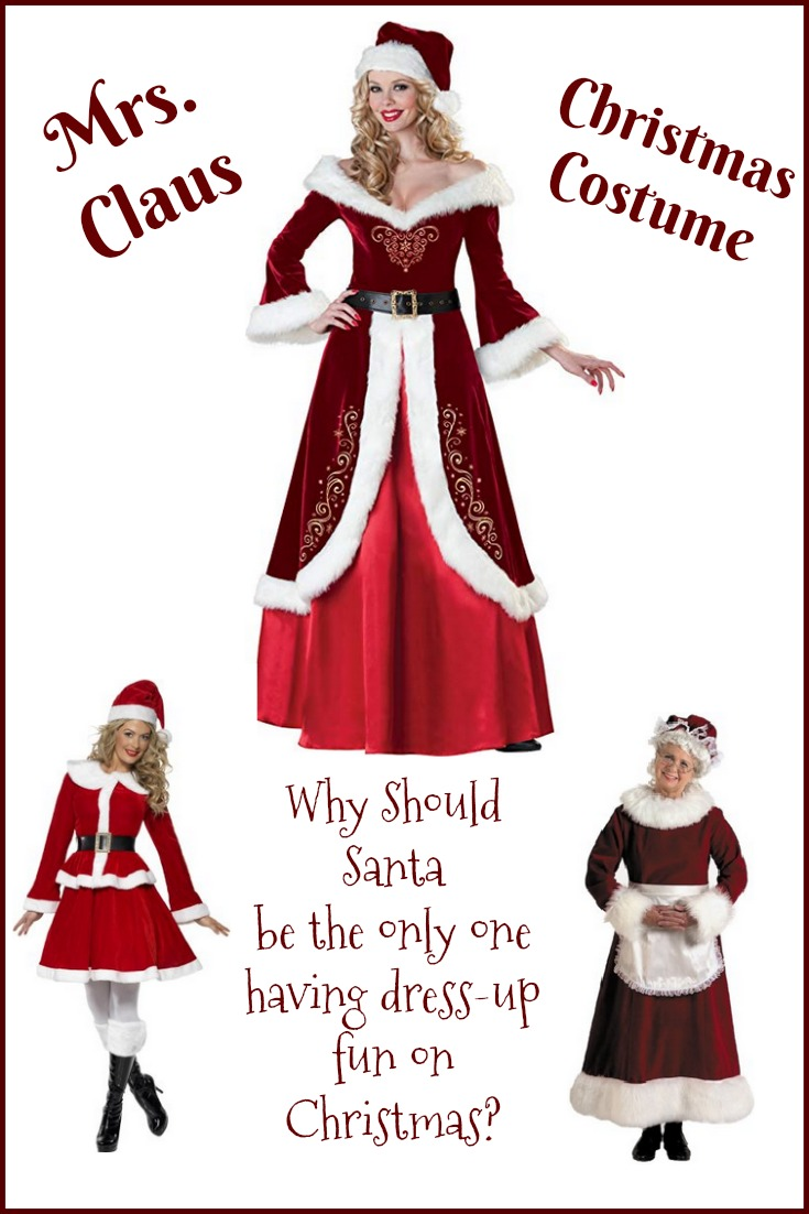 Mrs Claus Christmas Dresses costumes