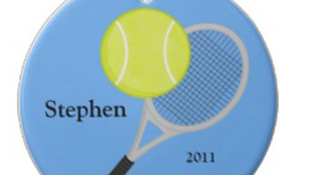 Kids Personalized Sports Christmas Ornaments