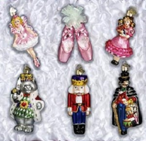 Old World Nutcracker Ornament Collection