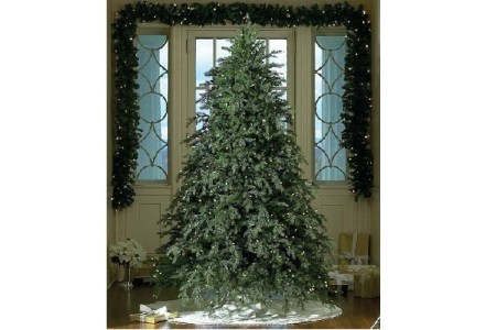 Pre-lit Artificial Christmas Trees with Clear Lights