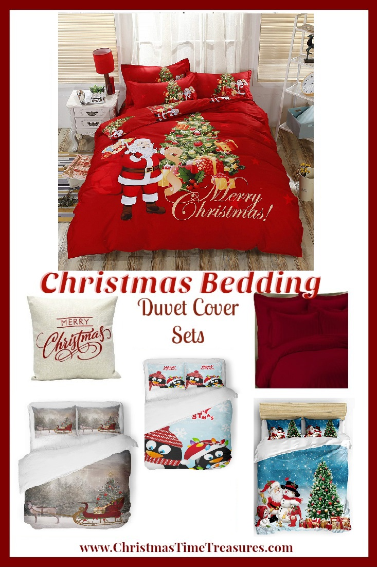 Christmas Bedding - Duvet Sets for Christmas