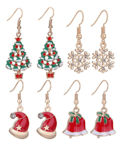 Christmas Earrings for the Holidays