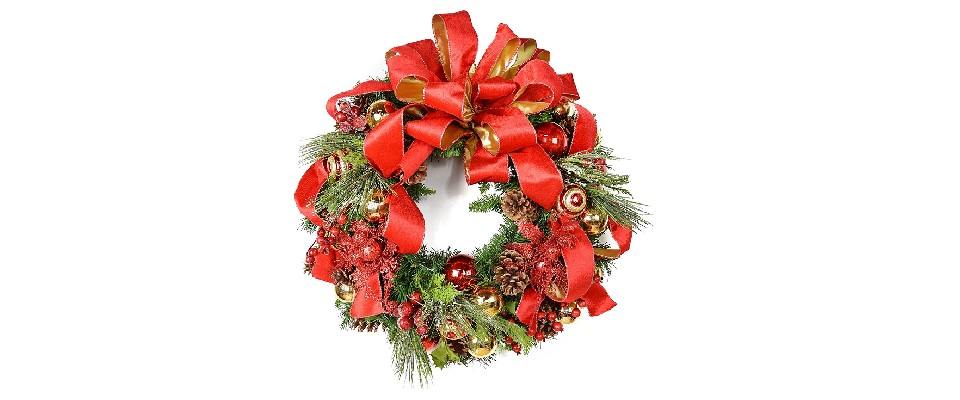 Red Covermates 3 Year Warranty 36 Christmas Wreath Storage Bag