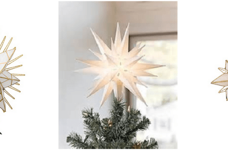 Star Tree Toppers for Christmas Trees