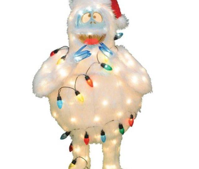 Bumble Abominable Snowman Yard Decor