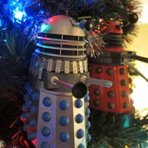 Dalek Christmas Tree Ornaments