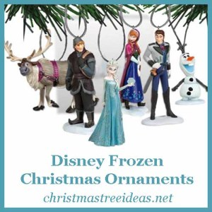 Disney Frozen Christmas Ornaments