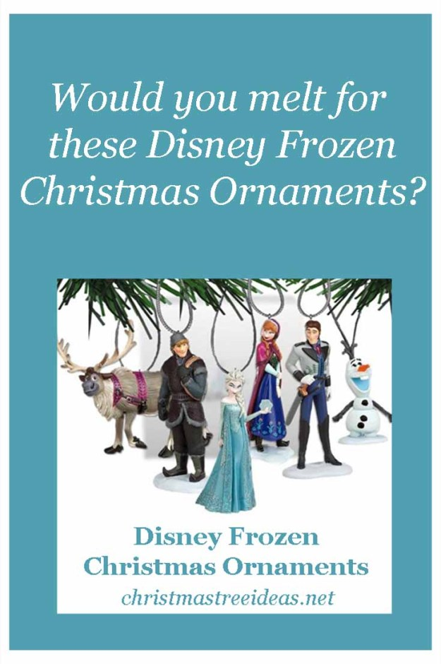 Disney Frozen Christmas Tree Ornaments