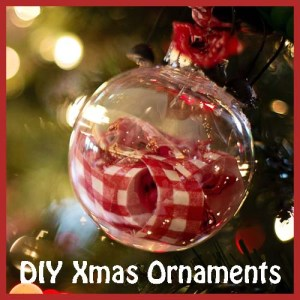Great ideas for some diy Christmas ornaments, fun craft ideas to decorate your Christmas tree with.
