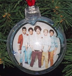 DIY One Direction Celebrity Christmas Ornaments