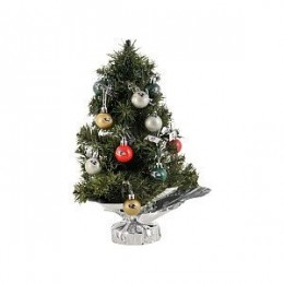 Tabletop Baltimore Ravens Christmas Tree