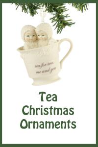 Tea Christmas Ornaments