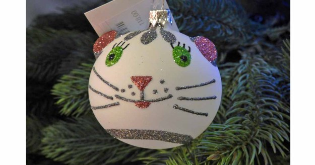 cat christmas tree ornament diy idea