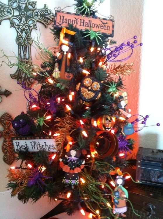 Halloween Christmas Trees