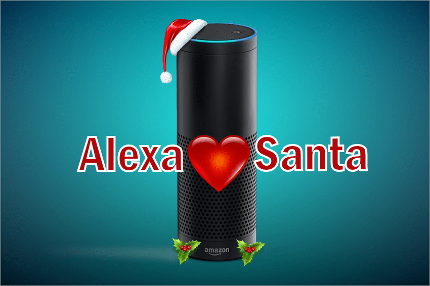 Kids Get Santa Love from Alexa