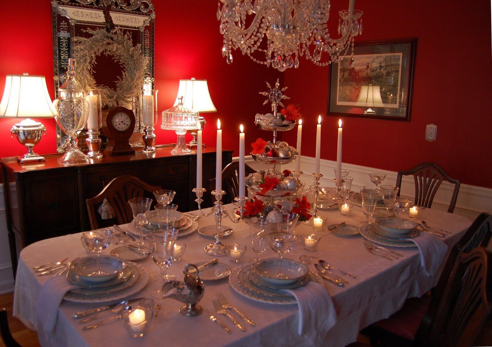 Christmas Table Decorations Ideas
