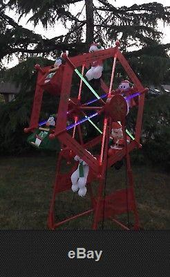 Gemmy Christmas Ferris Wheel Outdoor Decoration Christmassite Co
