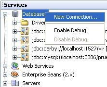 """Como crear un """"Pool de Conexiones"""" en NetBeans 6.0 usando Java Server Faces (JSF) y MySQL (4/6)"""