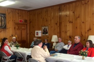 Our Marvelous Moravians ventured out Tuesday morning for a great program!