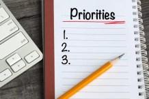 Prioritäten Check-Liste