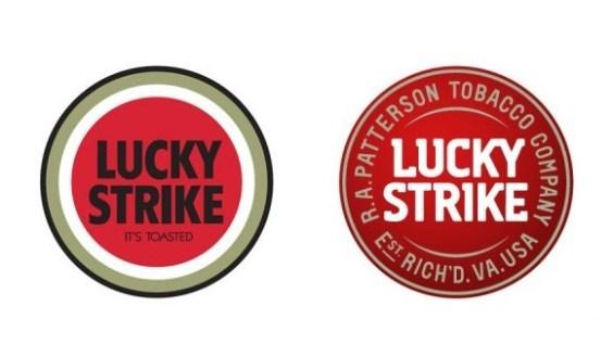 Lucky Strike - alt und neu.