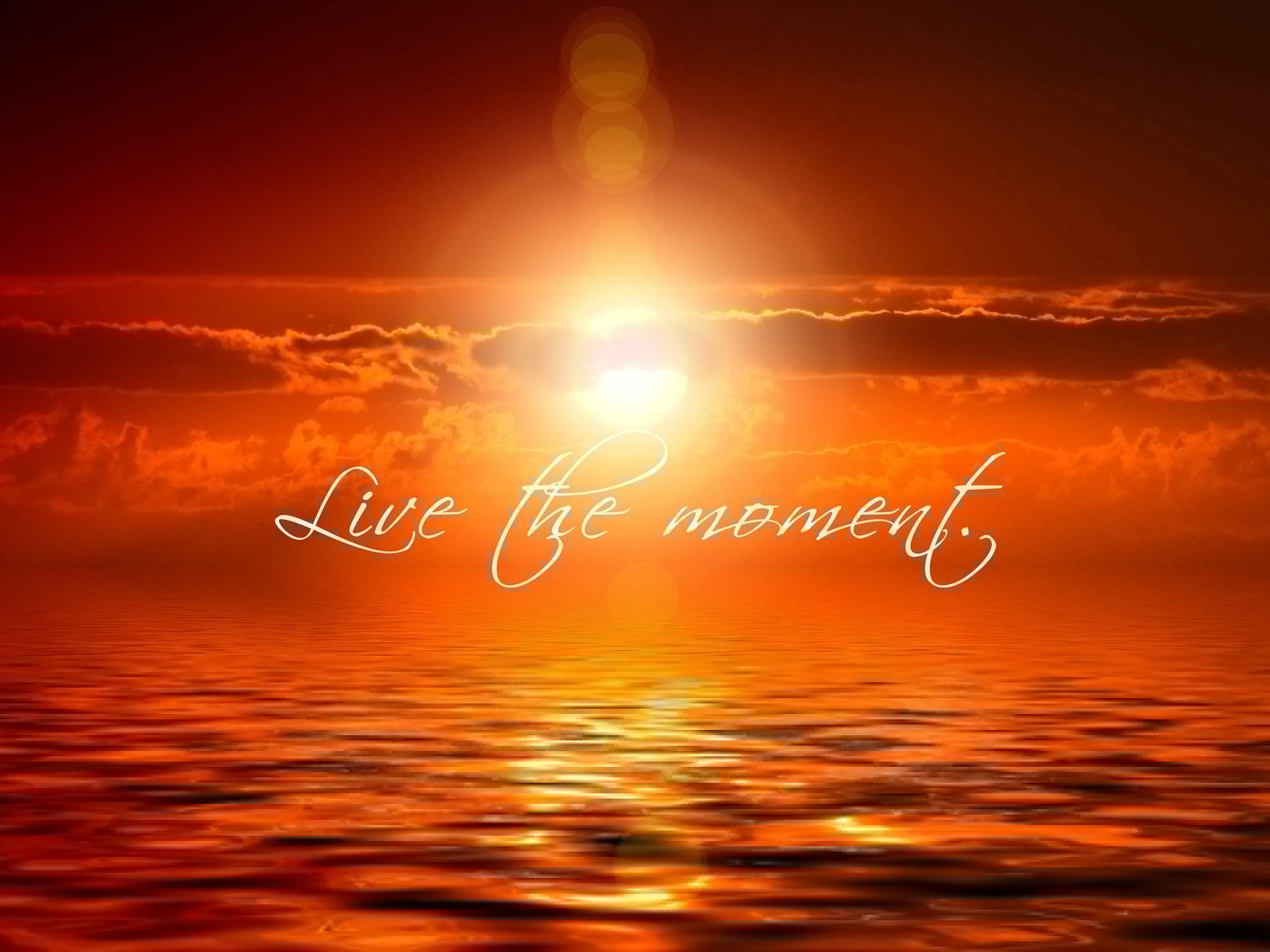conscience du moment présent