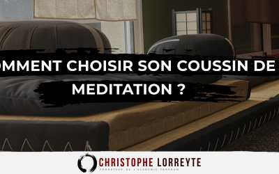 Comment choisir son coussin de méditation (zafu) ?