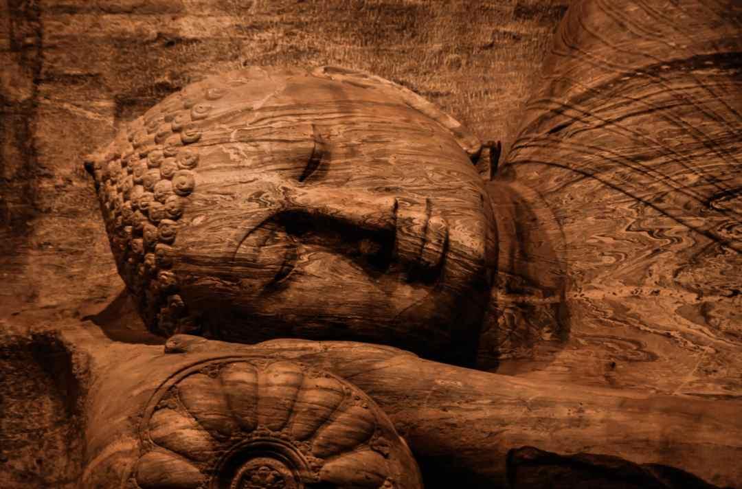 La mort de Bouddha