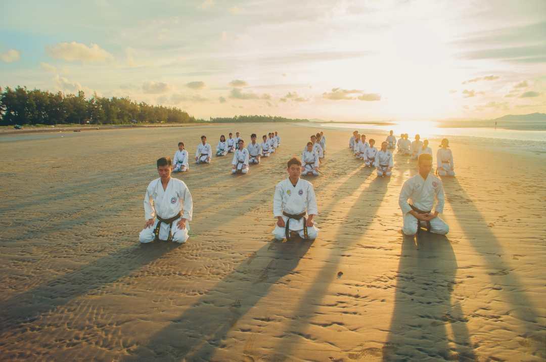 Mokuso : La méditation des arts martiaux
