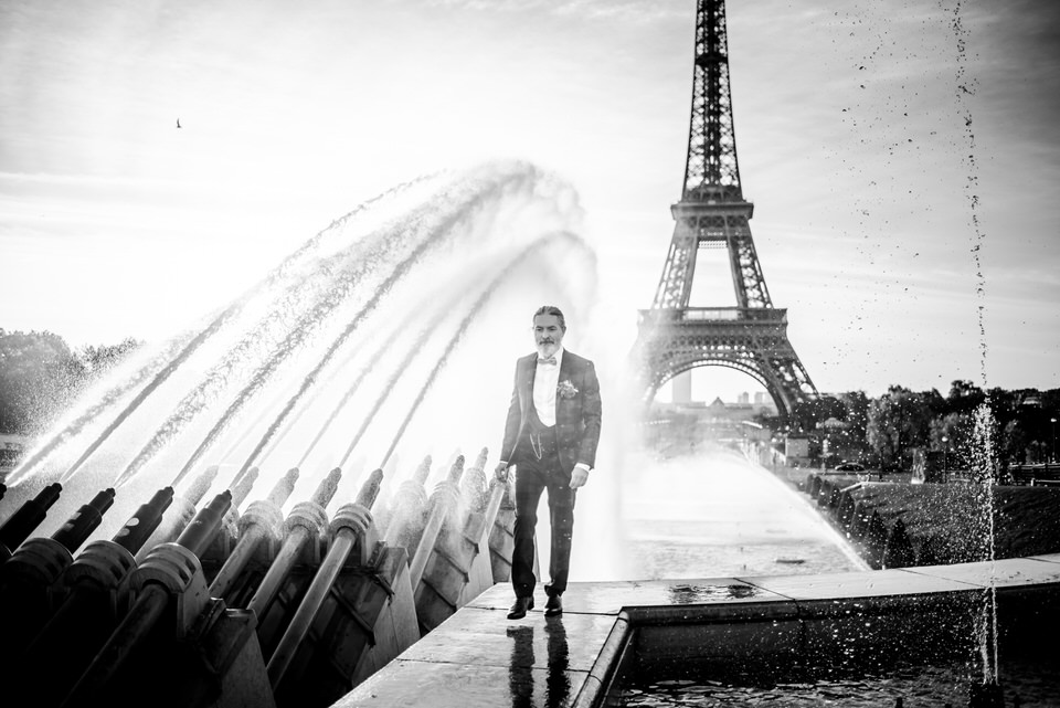 Christophe Lefebvre Photographe Maisons-Laffitte ou shooter quand il pleut / Paris Tour Eiffel