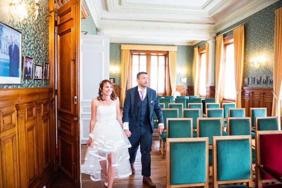 La mairie de Maisons-Laffitte Le reportage mariage Christophe Lefebvre Photographe