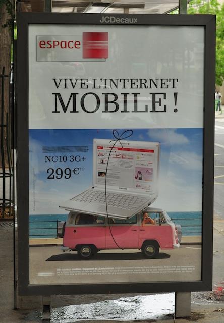 internet mobile combi VW