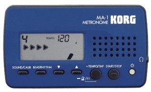 Korg MA1BL Visual Beat Counting Metronome