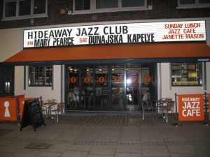 Hideaway Jazz Club 1 Empire Mews, London SW16 2BF UK