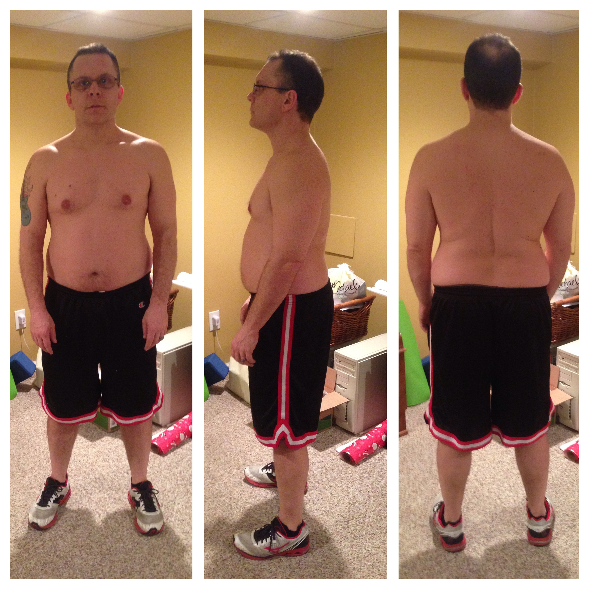 P90x3 30 Day Results