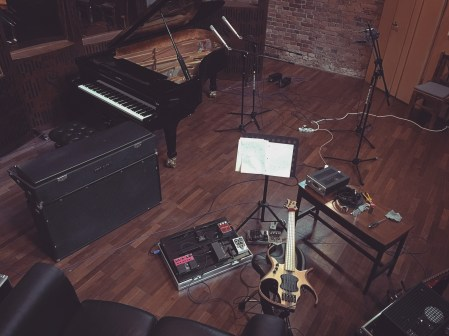 Birdseye view of the live room