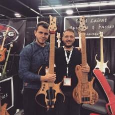 With my Italian bass brother Michelangelo Brandimarte