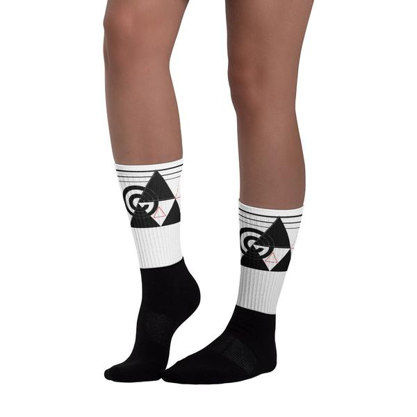 TriCcult Black foot socks