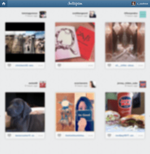 Instagram Thumbnail View Bookmarklet