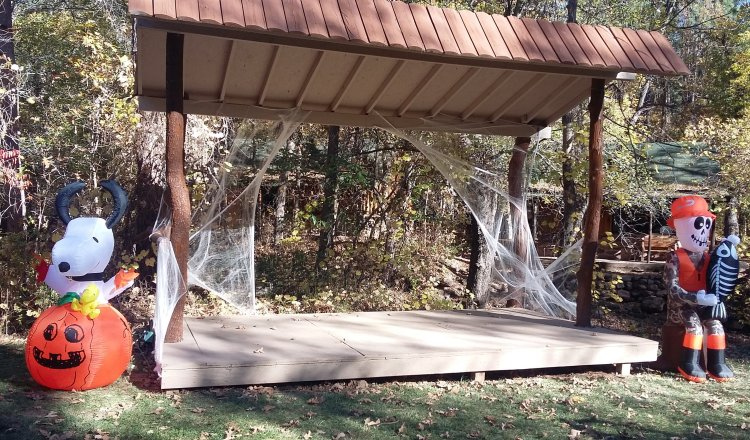 Halloween in Christopher Creek