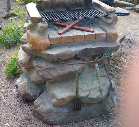 BBQ Grilles on Christopher Creek