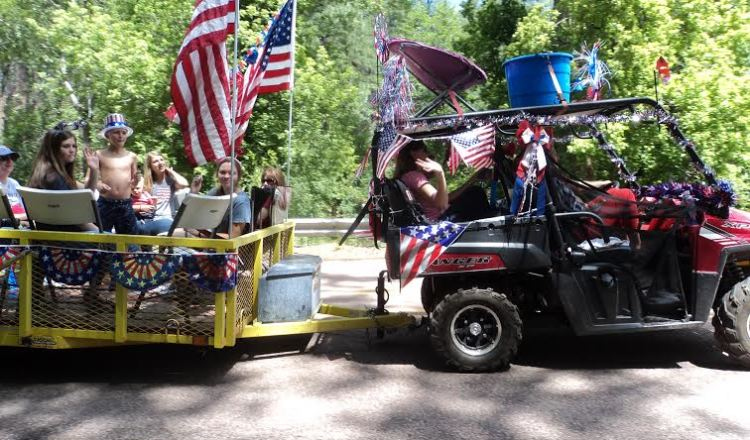 Independence Day in Christopher Creek
