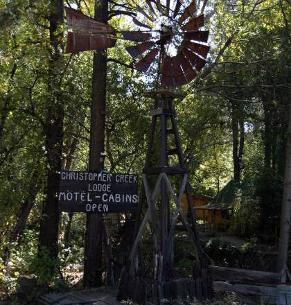 Windmill in Christopher Creek